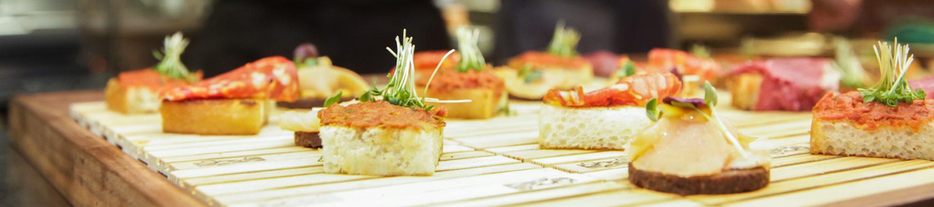 Restaurant, Catering, Kche bereiten Vorspeisen